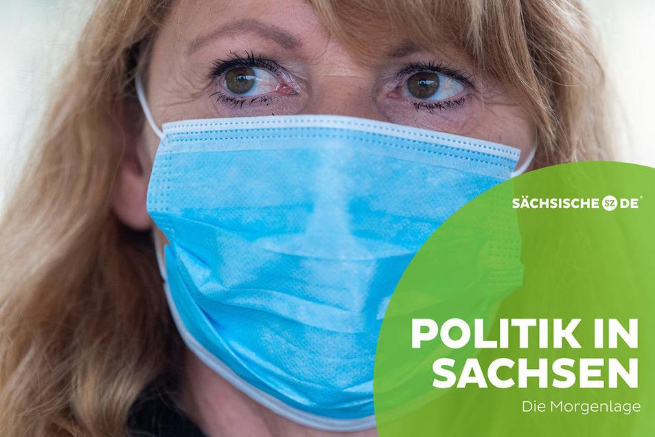 Sachsens Gesundheitsministerin Petra Köpping kündigte am Dienstag die Einführung eines Bußgelds für Maskenverweigerer an.