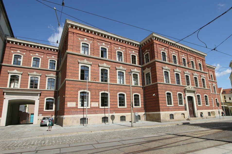 Das Landgericht am Postplatz in Görlitz.