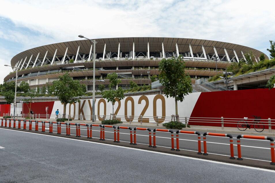 Am 23. Juli soll im Nationalstadion von Tokio die Eröffnungsfeier der um ein Jahr verschobenen Olympischen Sommerspiele stattfinden.