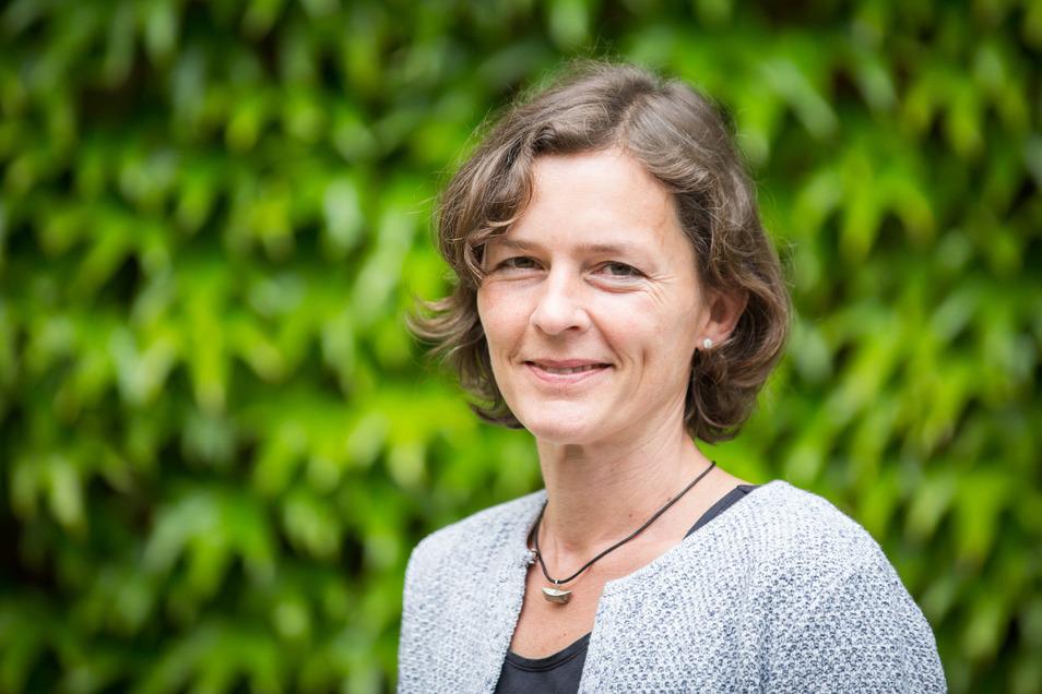 """Ute Meckbach vom Projekt """"ehrensache.jetzt"""" der Bürgerstiftung Dresden."""