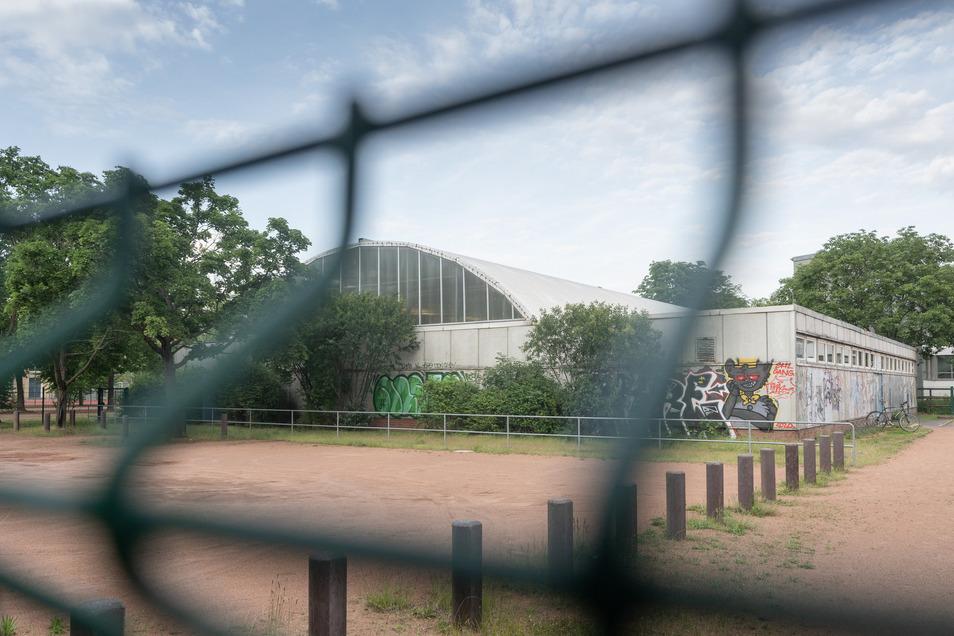 In dieser Turnhalle in Dresden hat Trainer Thomas H. jahrelang Jungs missbraucht.