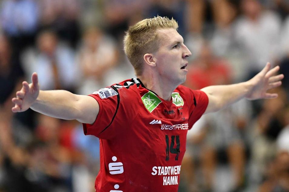 Neuzugang Ivar Stavast hatte in der Vorsaison ausgerechnet gegen Dresden seinen besten Auftritt.