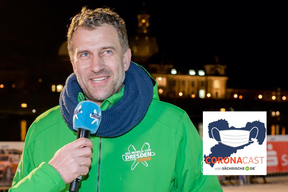 René Kindermann geht in seinen vierten Winter als Organisator des Dresdner Ski-Weltcups. Diesmal ist wegen Corona vieles anders.