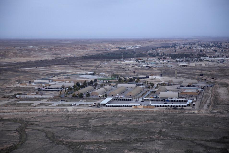 Der vom US-Militär genutzte Stützpunkt Ain al-Assad.
