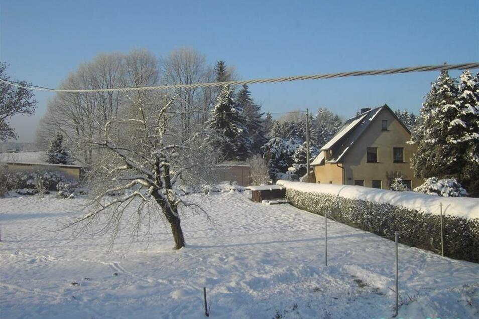 Winter in und um Steinigtwolmsdorf.