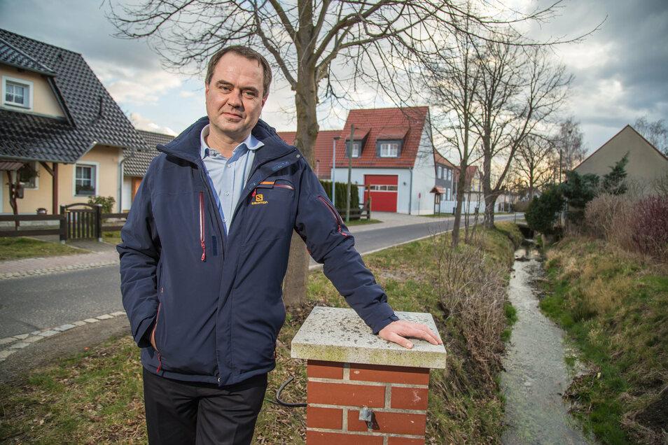 Per Wiesner ist Kandidat der Freien Liste Neißeaue für die Wahl zum Bürgermeister. Zu Hause ist der 42-Jährige in Groß Krauscha.