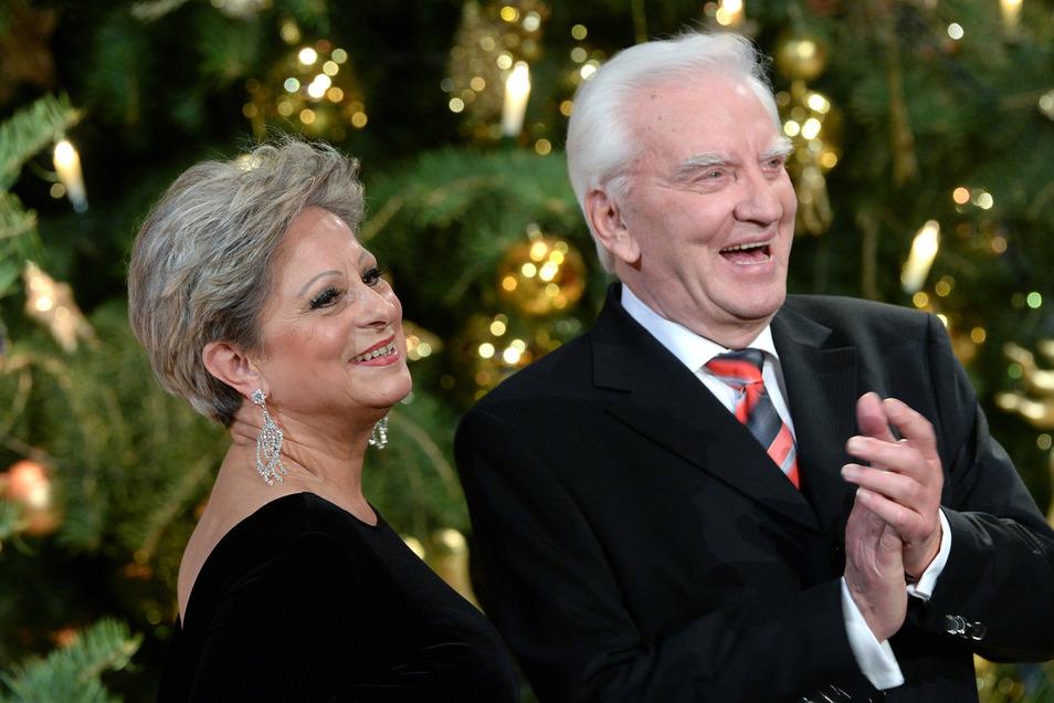 Peter Wieland, hier meiner seiner früheren Frau Dagmar Fredric, ist in der Nacht zu Montag gestorben.