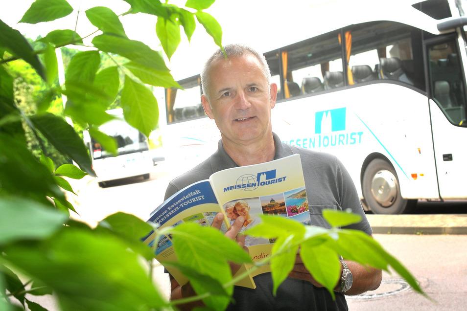 Besorgt über die aktuelle Situation: Meissen-Tourist-Chef Lutz Thieme sieht große Gefahren für seine Branche.