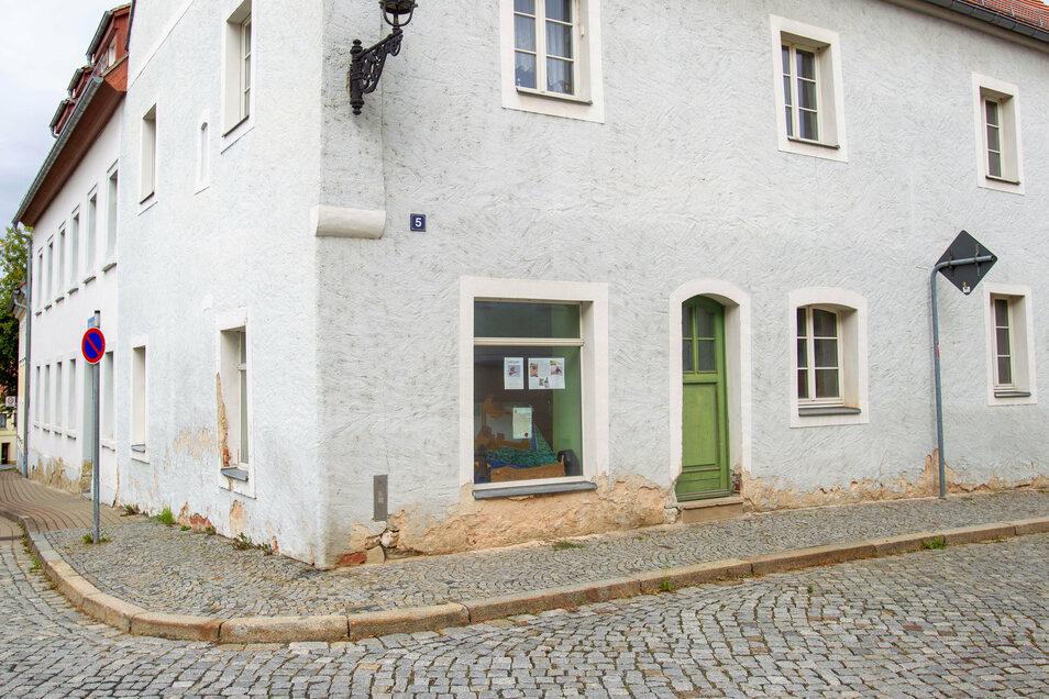 Vom Markt auf die Burgstraße: Hier richtet sich jetzt der Kulturverein ein.