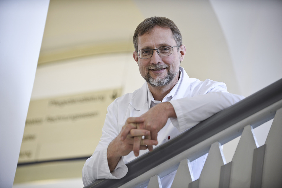 Andreas Lammert, der Ärztliche Direktor am Malteser Krankenhaus St. Carolus in Görlitz.