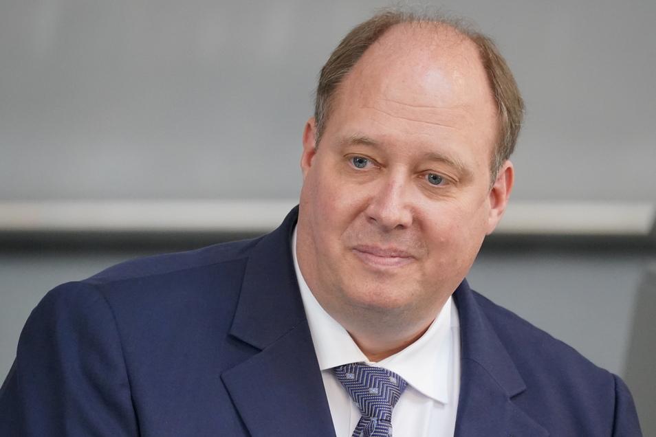 Helge Braun (CDU), Chef des Bundeskanzleramtes und Bundesminister für besondere Aufgaben, im Bundestag.