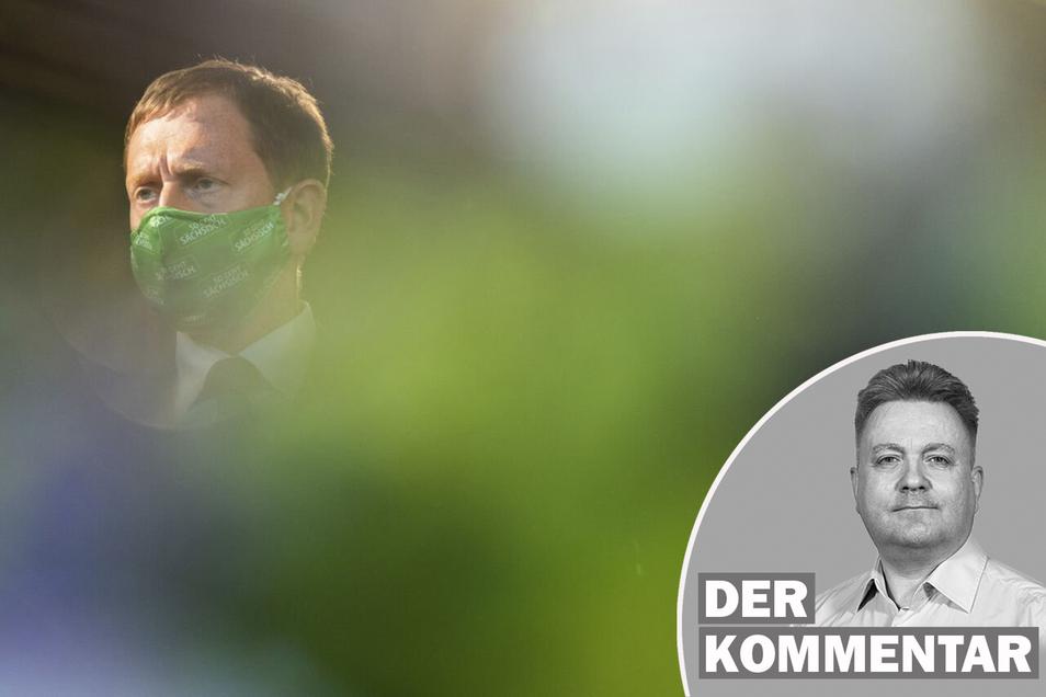 Sachsens Regierungschef Michael Kretschmer (CDU) hält die jüngsten Beschlüsse der Ministerpräsidentenkonferenz zu Lockerungen in der Corona-Pandemie für gescheitert.