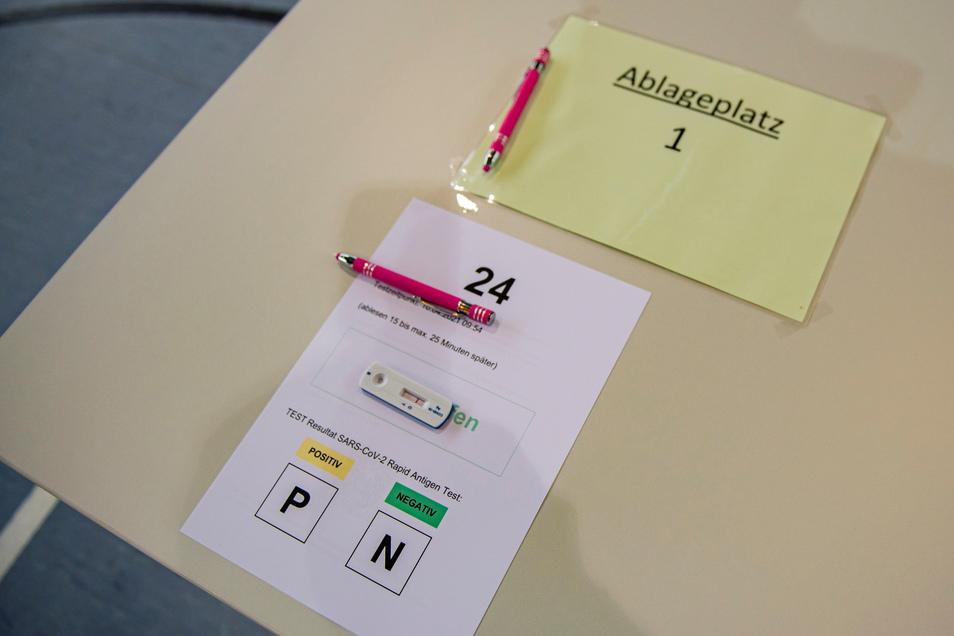 Bislang konnten alle Tests in Priestewitz mit einem Negativbescheid versehen werden.