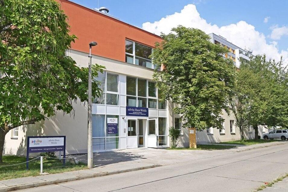 Zentral gelegen: Das Seniorenhaus in Weida an der Stendaler Straße beherbergte früher eine Poliklinik.