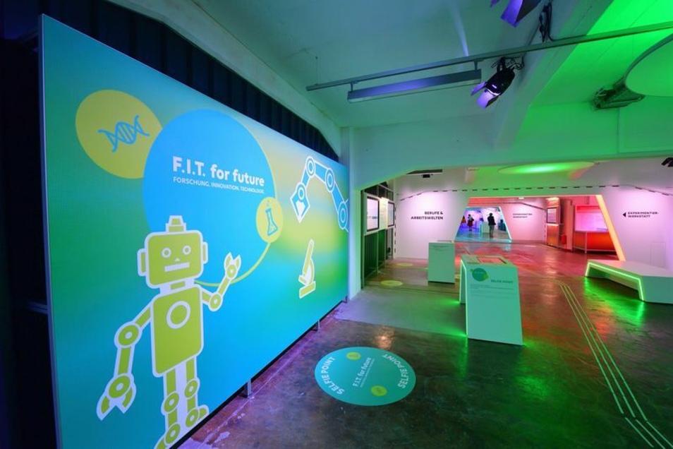 """Die Ausstellung """"F.I.T. for future"""" war 2020 im Rahmen der Sächsischen Landesausstellung zu sehen. Nun geht sie virtuell in eine zweite Runde."""