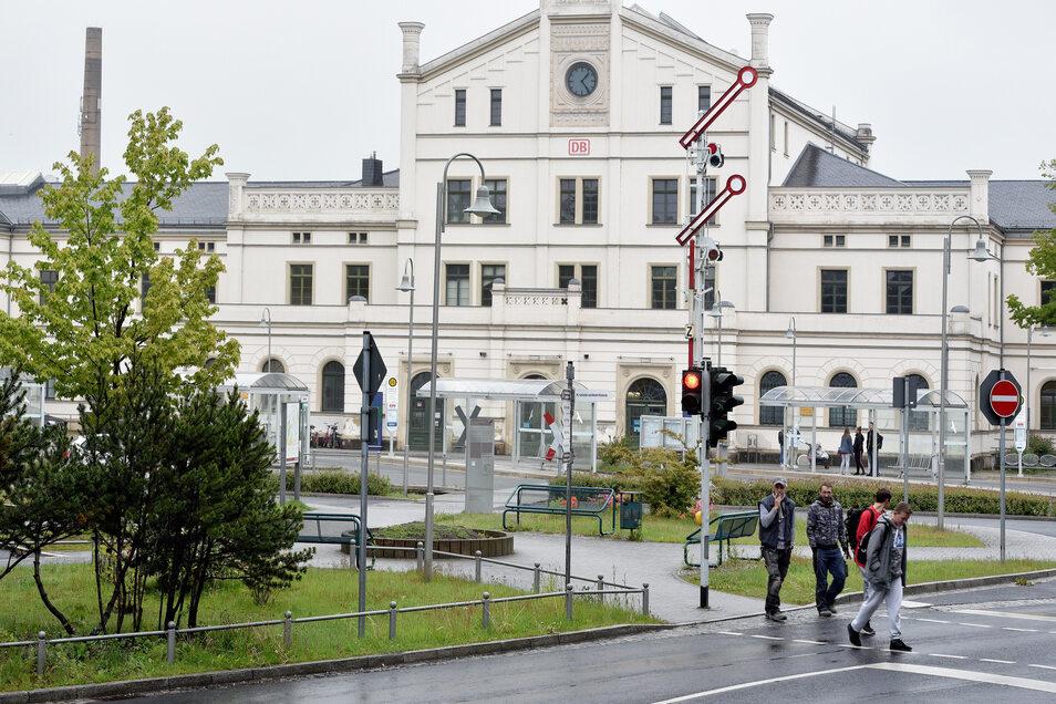 Der umgebaute Zittauer Bahnhof soll im Herbst offiziell eingeweiht werden.