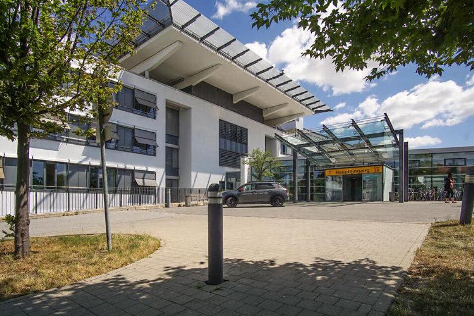 Die Klinik in Bautzen. Das dortige Traumazentrum hat eine Auszeichnung erhalten.