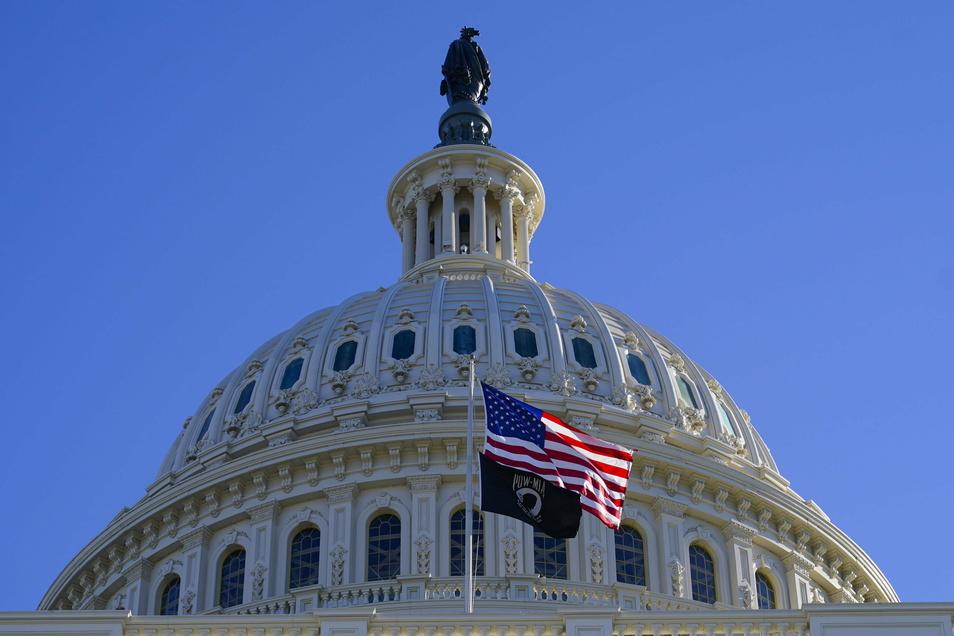 Das Kapitol in Washington ist Sitz des US-Kongresses.