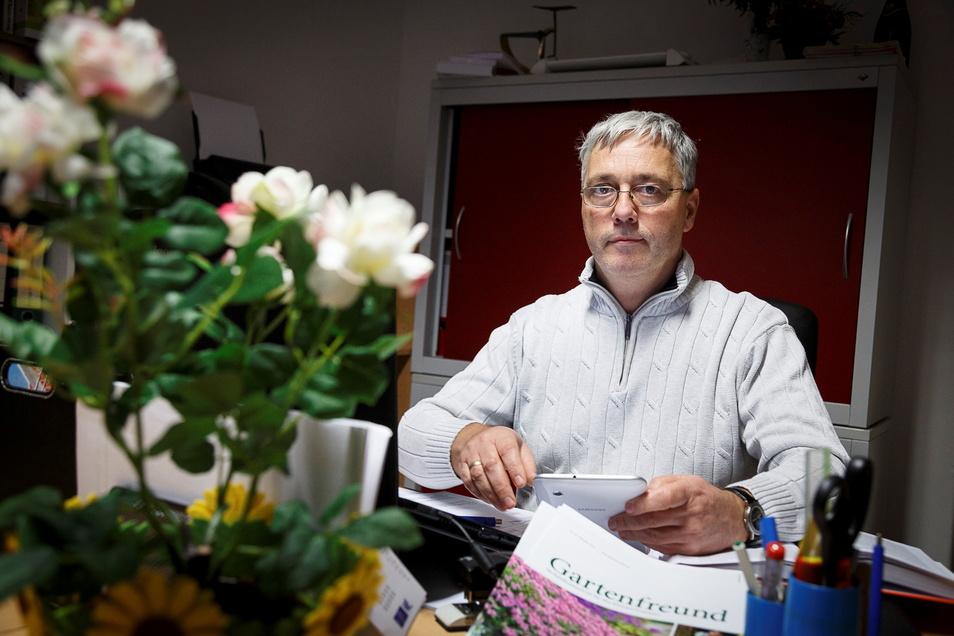 Frank Reimann ist der Geschäftsführer des Niederschlesischen Kleingärtnerverbandes.