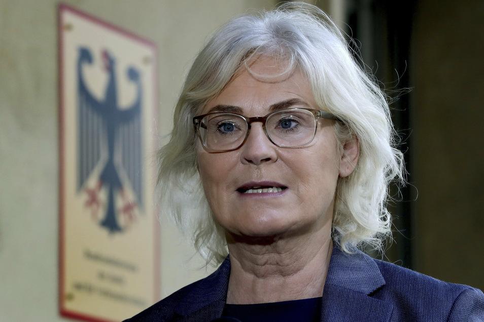 Steht wegen eines Referentenentwurfs, in dem fast ausschließlich das generische Femininum verwendet wird, in der Kritik: Christine Lambrecht