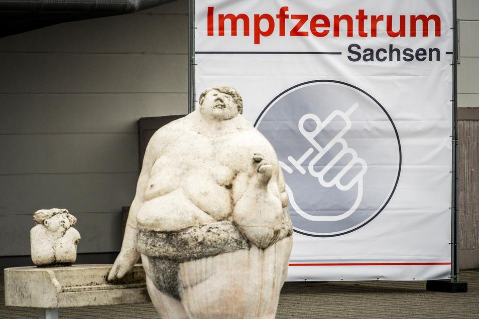 Wie lange bleibt die Sachsenarena in Riesa noch Impfzentrum für den Landkreis Meißen? Diese Frage kam nun auch im Stadtrat auf.