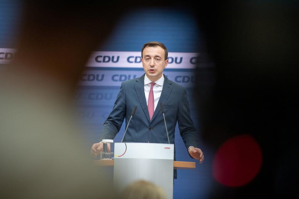 Die CDU will sich auf einem Parteitag neu aufstellen, wie Generalsekretär Paul Ziemiak am Montag ankündigte.