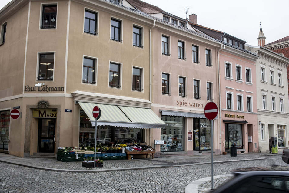 Auch auf dem Kamenzer Marktplatz gibt es viele Geschäfte mit den unterschiedlichsten Angeboten. Trotzdem wäre ein Zuwachs wünschenswert – auch für die Attraktivität der Stadt.