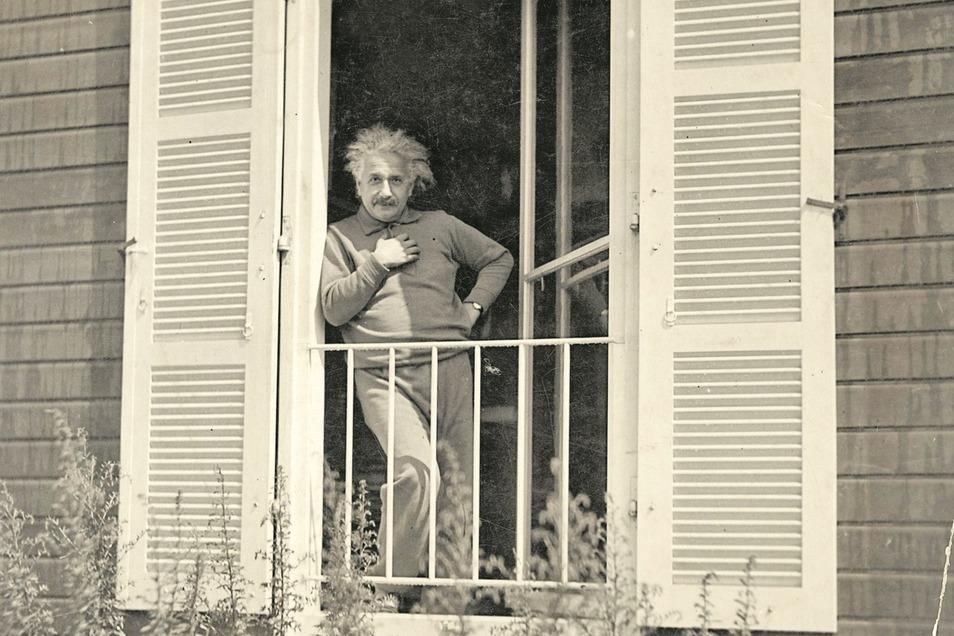 """Sein """"Häusle"""" nannte Einstein das Sommerhaus in Caputh."""