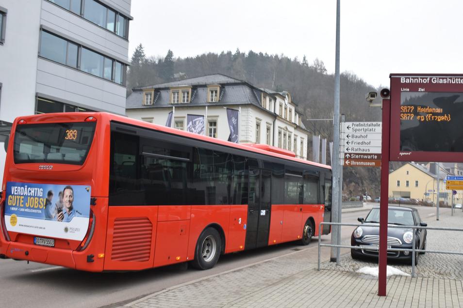 Wegen der Umgestaltung der Kreuzung in Niederfrauendorf fahren die Busse von drei Linien andere Strecken.