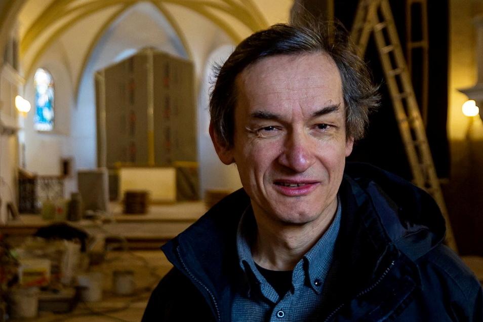 Pfarrer Martin Beyer wird an der Spitze der neuen Kirchgemeinde stehen.