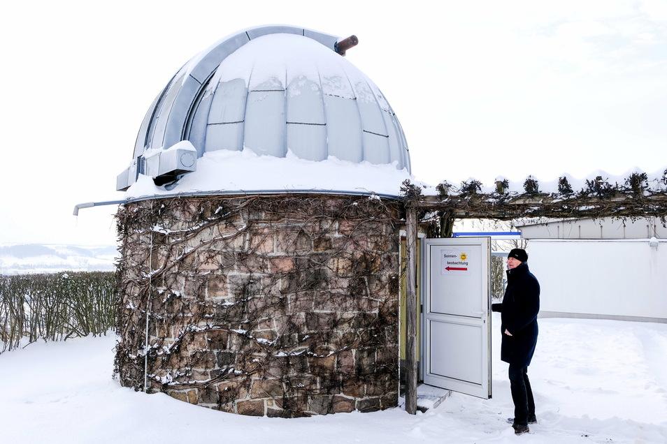 Der Astroclub hofft, die Sternwarte bald wieder nutzen zu können.