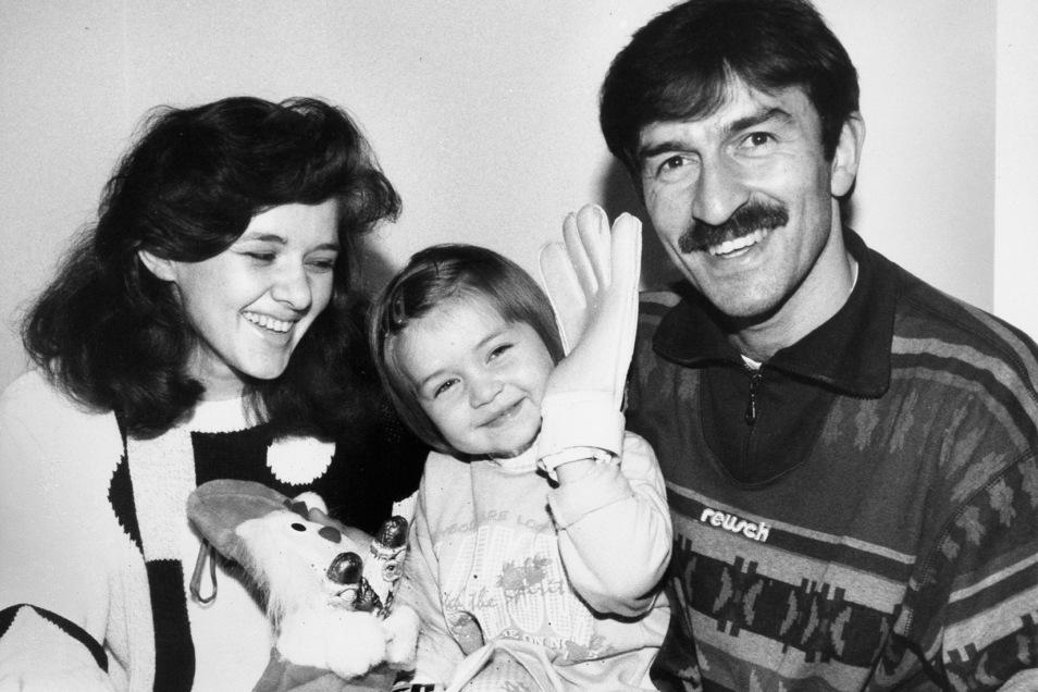 Stanislaw Tschertschessow hat sich mit Frau und Tochter Madina in Dresden wohlgefühlt, sein Sohn Stanislaw junior wurde zudem hier geboren.