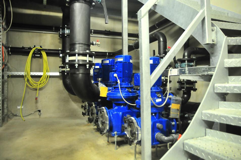 Das Herzstück des NEB: Die Technikanlage sorgt für zuverlässig gute Wasserqualität.