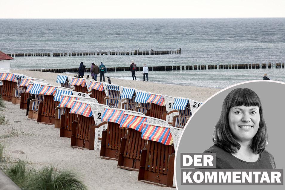 Auch bei ungemütlichem Herbstwetter ist die Ostseeküste ein beliebtes Urlaubsziel. Nun drohen aber wieder Einschränkungen.