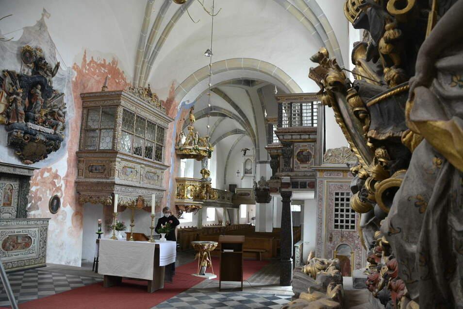 Mehr als eine Million Euro wurde in den letzten Jahren in die Sanierung der Kirche investiert.