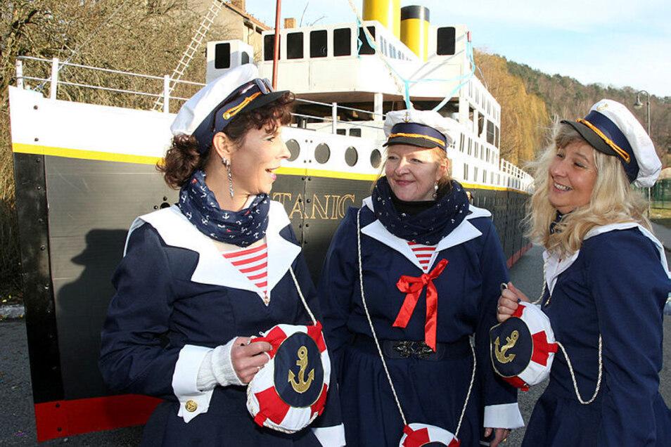 In Prossen an der Elbe wird Samstag und Sonntag Schifferfastnacht gefeiert.