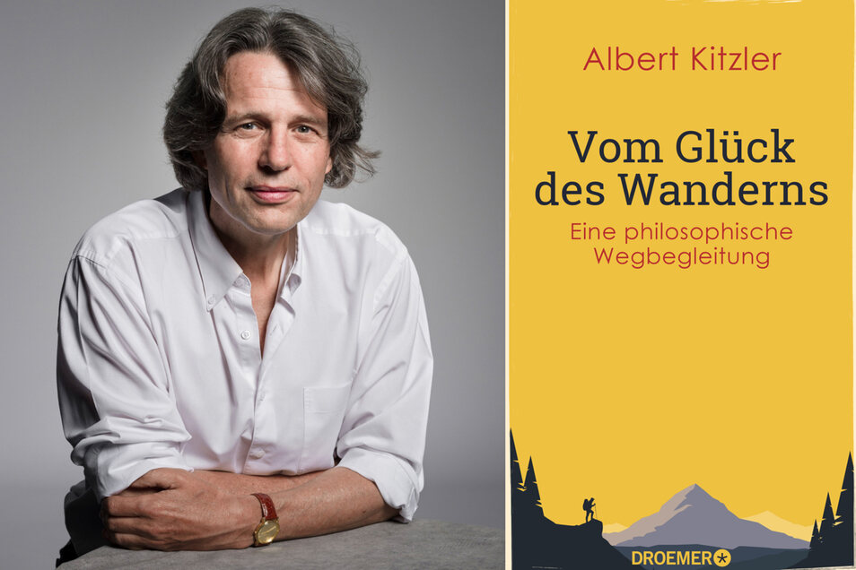 Albert Kitzler: Vom Glück des Wanderns. Eine philosophische Wegbegleitung. Droemer HC 2019, 272 Seiten, 16,99 Euro. ISBN: 978-3426277607