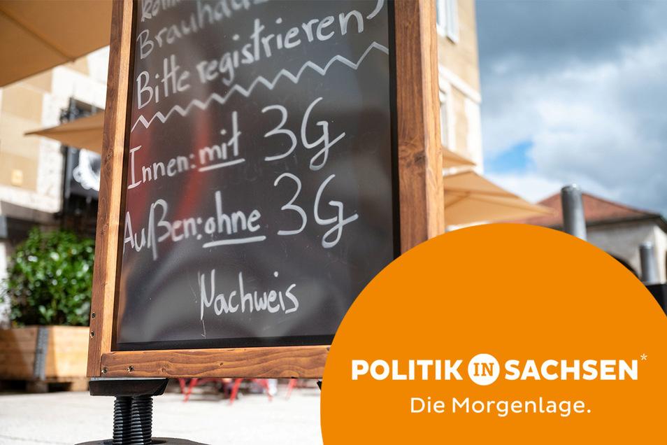 Voraussichtlich Mitte der Woche müssen weitere Regionen in Sachsen die 3G-Regel einführen.