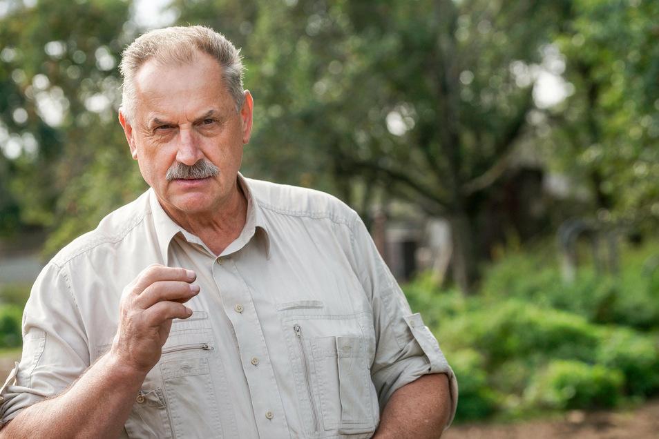 """Jäger und Tierzüchter Günter Sodan: """"Wenn du früh auf die Weide kommst und alles liegt zerrissen da, das ist grausam."""""""