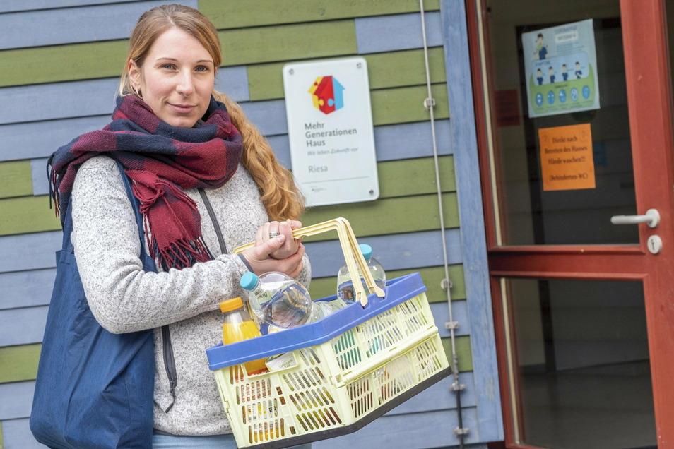 Isabel Thaler ist Koordinatorin im Mehrgenerationenhaus an der Alleestraße. Dort will man jetzt einen Einkaufsservice für Senioren anbieten.