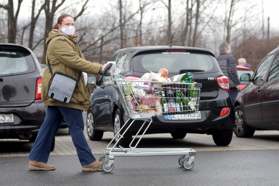 Bettina Padourek ist am Mittwoch bei Kaufland an der Christian-Keimann-Straße gewesen.