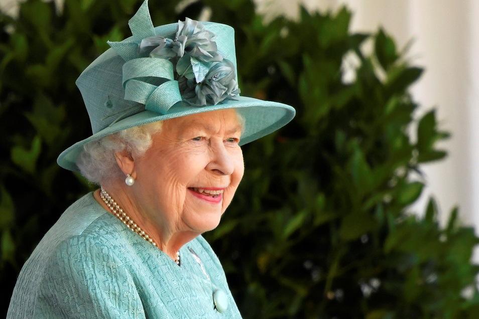 Königin Elisabeth II. von Großbritannien trifft einmal mehr einen US-Präsidenten.