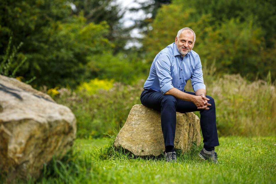 Seit 2004 sitzt er für die Linken im Landtag, 1999 bis 2009 war er Landesgeschäftsführer seiner Partei. Nun ist Rico Gebhardt zum zweiten Mal Spitzenkandidat für die Landtagswahlen.