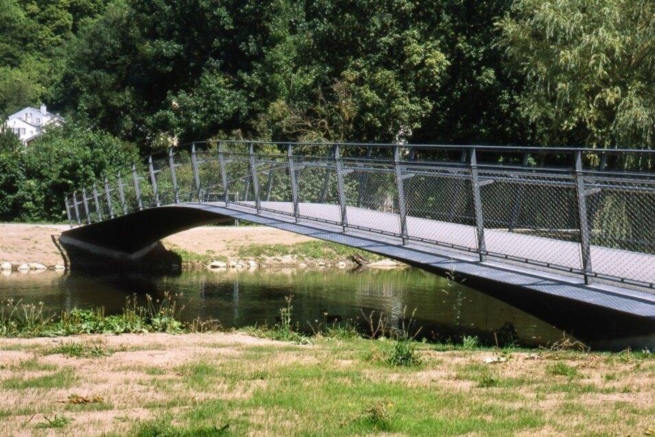 So sieht die Brücke über die Altmühl in Eichstätt aus. An deren Modell sollte sich die Stadt Zittau für den Dreiländerpunkt orientieren, findet Horst Schiermeyer.