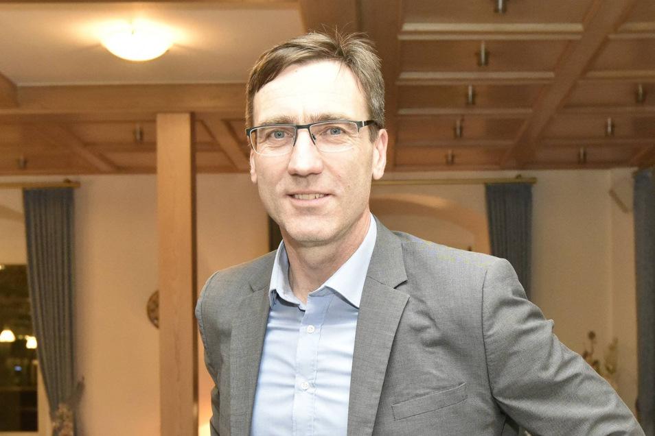 Torsten Schreckenbach freut sich, dass die Großgemeinde Klingenberg auch über ihre Grenzen hinaus Interesse findet.