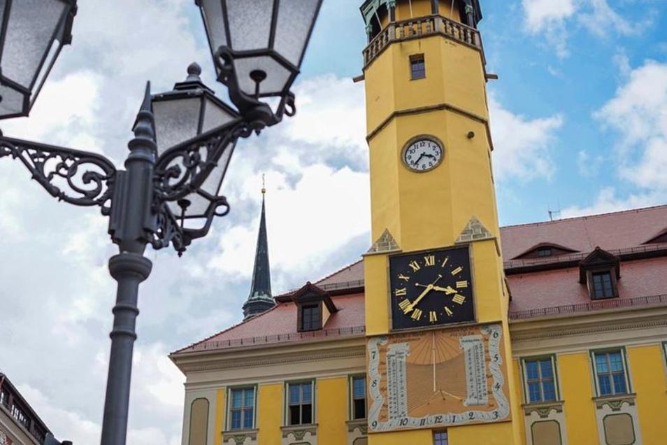 Das Rathaus von Bautzen. Die Stadtverwaltung verlängerte das Aufenthaltsverbot nicht.