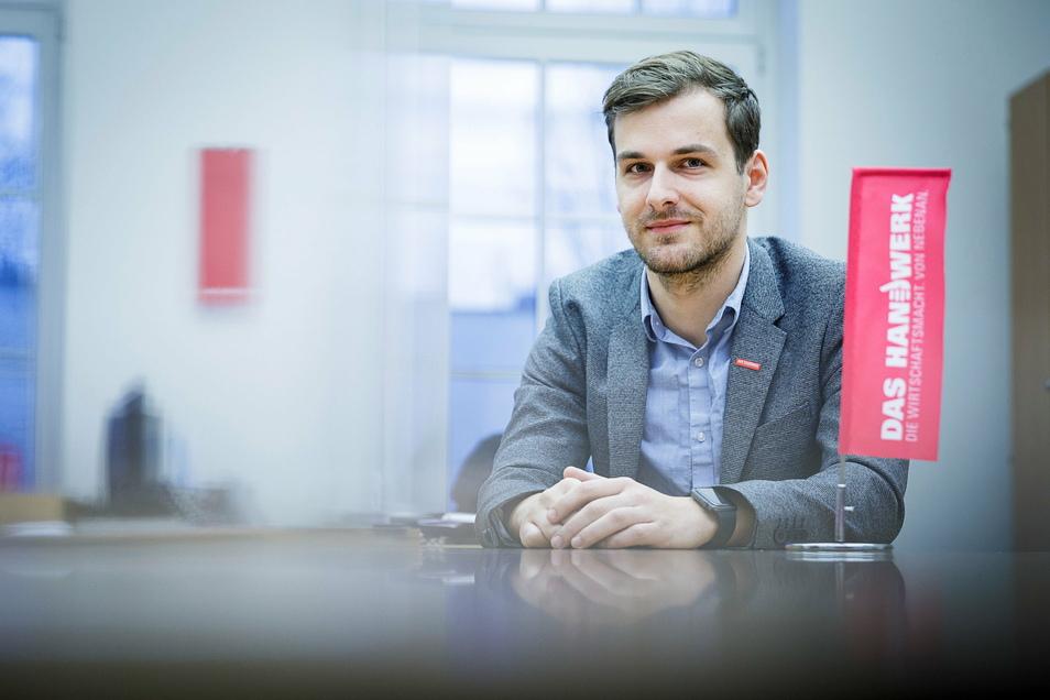 Daniel Siegel ist Geschäftsführer der Kreishandwerkerschaft Görlitz.
