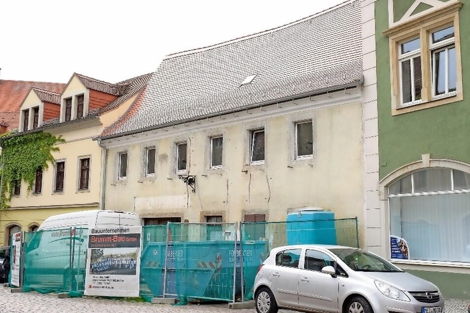 Die Lorenzgasse 2, ebenfalls ein Denkmal, wird zum Wohnhaus für die Eigentümerin umgebaut.