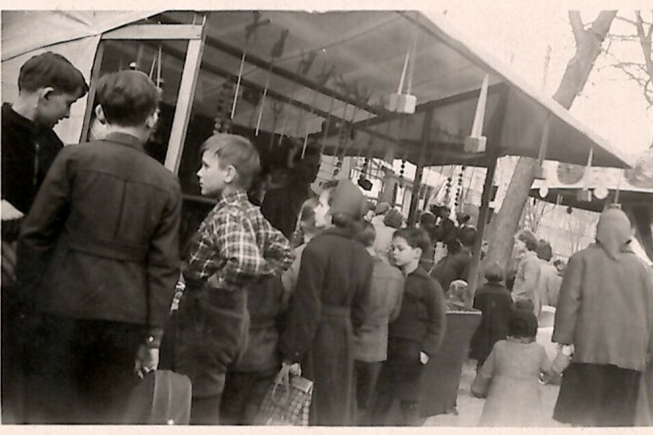 In den 50er-Jahren waren die Langenfelds auch mit einem Spielzeuggeschäft auf Jahrmärkten unterwegs.