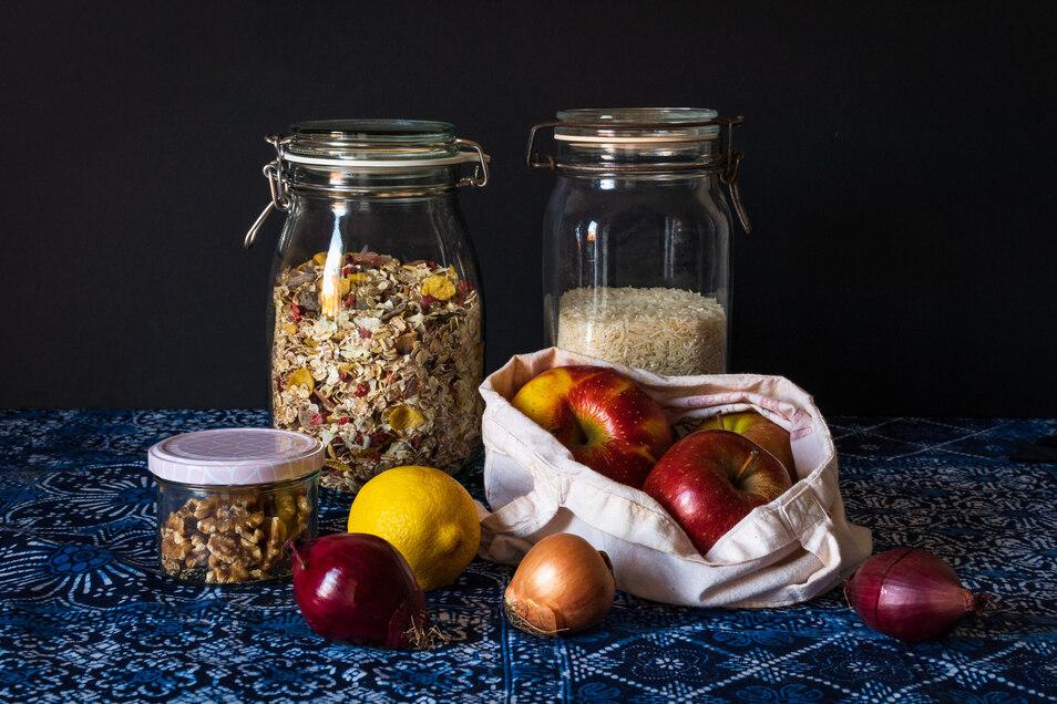 Viele Lebensmittel gibt es inzwischen unverpackt zu kaufen.